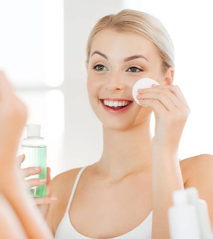 Toner cho da dầu nên chọn loại không có cồn để đảm bảo da không bị kích ứng.