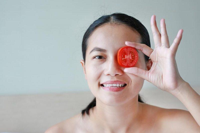 Cà chua được dùng như một nguyên liệu trị nám an toàn
