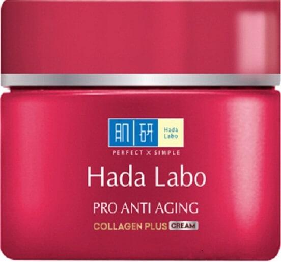 Kem chống lão hóa của Hada Labo có giá bình dân nhưng rất hiệu quả.