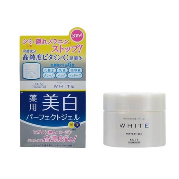 Kem dưỡng trắng da ban đêm Kose Moisture Mild White Cream