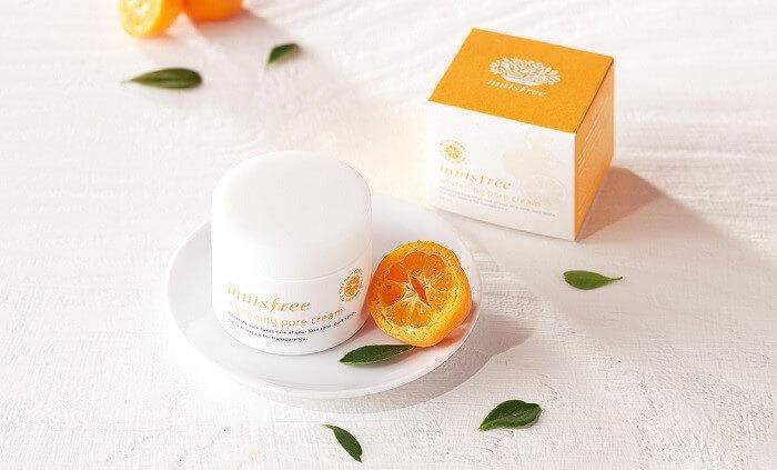 Kem dưỡng trắng da ban đêm Innisfree Whitening Pore Cream 50ml