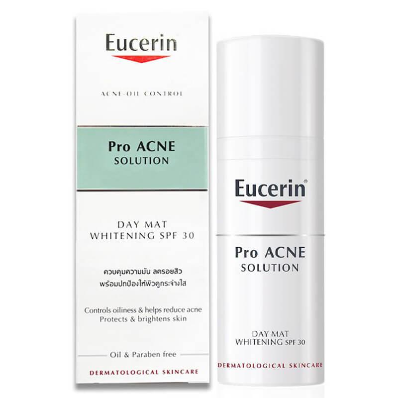 Sản phẩm trị mụn Eucerin pro acne solution