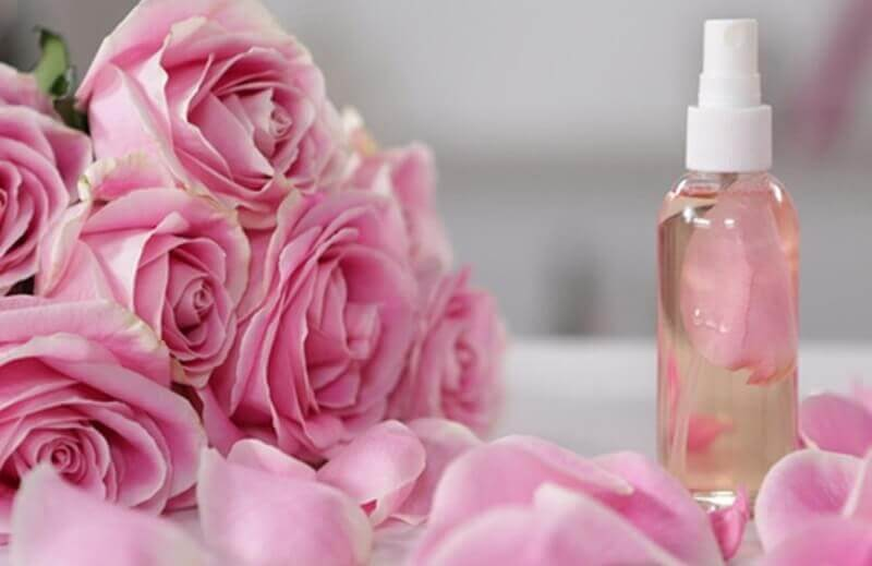 Nước hoa hồng có vai trò dưỡng ẩm cho da