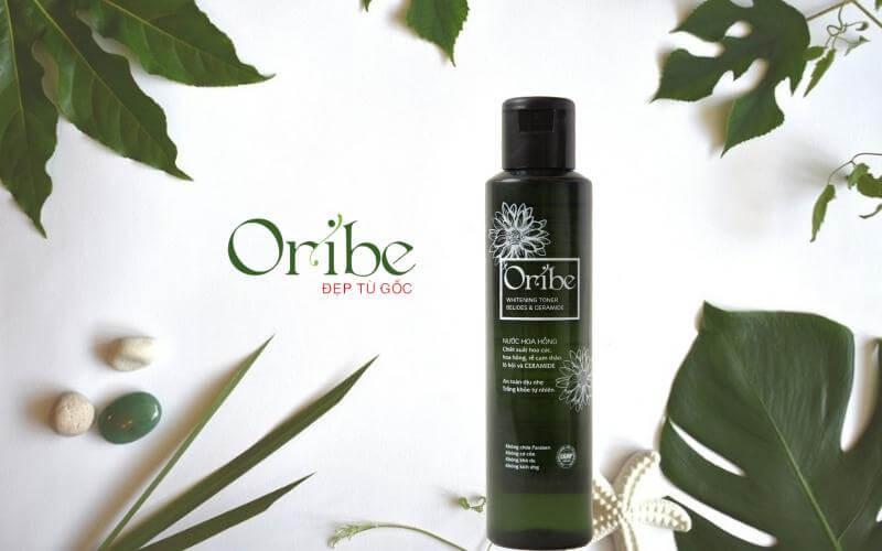nước hoa hồng oribe giúp tái tạo da, dưỡng ẩm