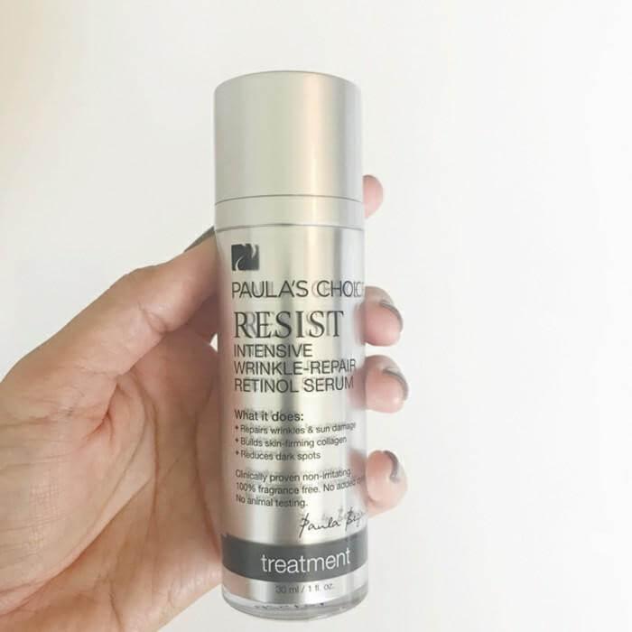 Tinh chất serum chứa thành phần retinol ổn định cao và nhiều chất chống oxy hóa, giúp chống nếp nhăn sâu, cải thiện các dấu hiệu lão hóa.