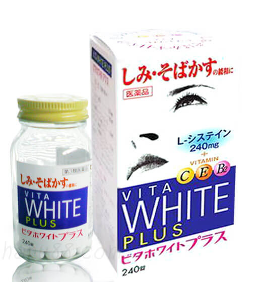 Viên uống trị nám Vita White Plus