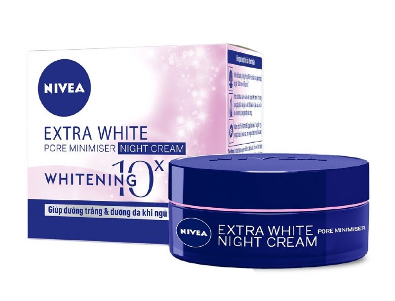 Kem dưỡng trắng da ban đêm Nivea White