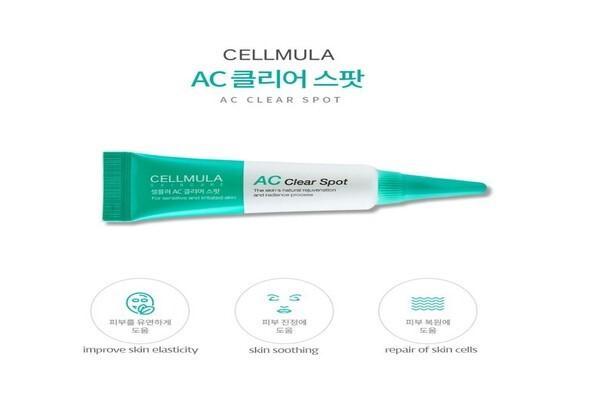 AC clear spot có chứa lưu huỳnh hữu cơ và rau má hiệu quả trong trị mụn đầu đen