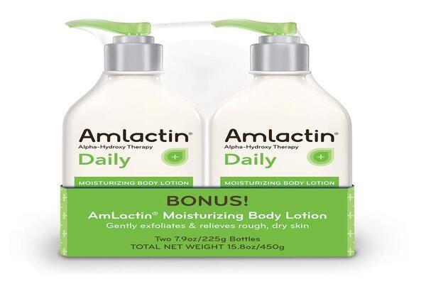 Amlactin một dưỡng thể không chỉ giúp dưỡng ẩm mà còn trị mụn nhờ vào lactic acid