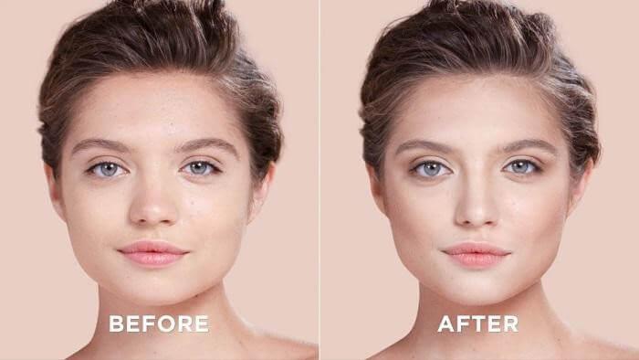DD CREAM ORIBE được dùng để nâng tông da mặt lên tới 1-2 tone