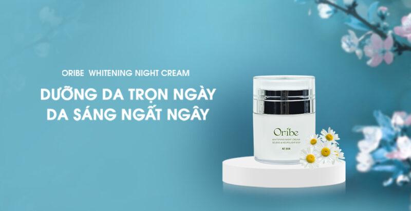 Kem dưỡng trắng da ban đêm Oribe - Cho làn da sáng hồng tự nhiên.