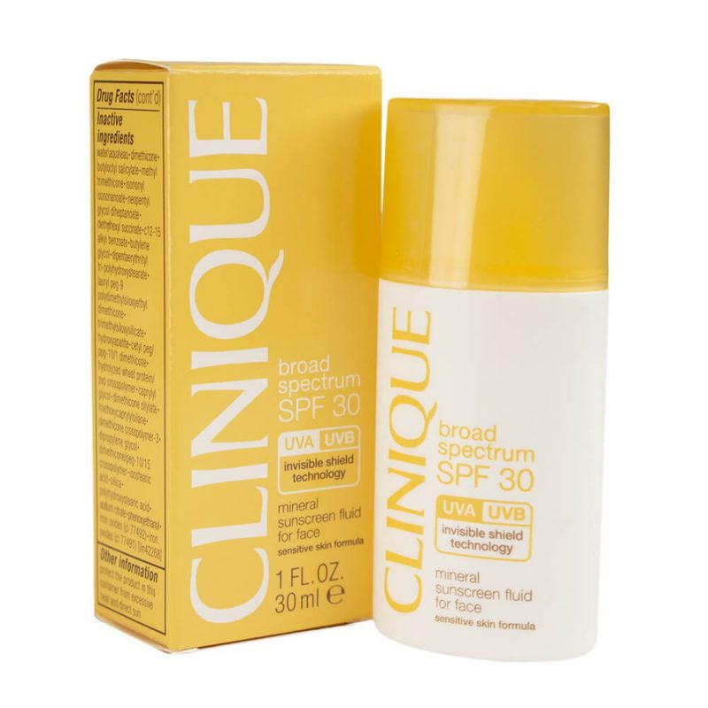 Sản phẩm chống nắng Clinique Face SPF 30 Mineral Sunscreen