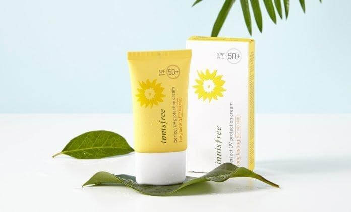 Kem chống nắng Innisfree Perfect UV Protection Cream Long Lasting.