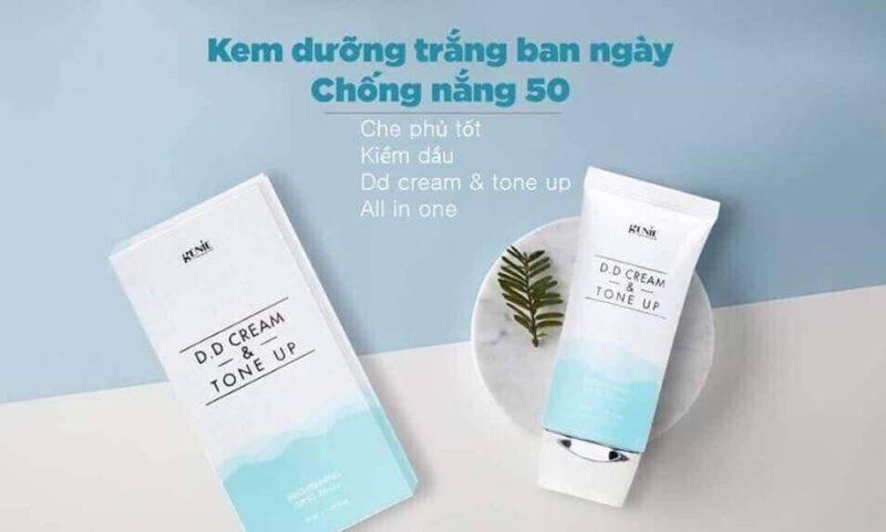 Kem nền chống nắng Genie DD Cream & Tone Up Hàn Quốc