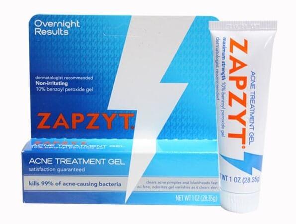 Kem trị mụn Zapzyt - chuyên trị mụn ẩn, mụn trứng cá