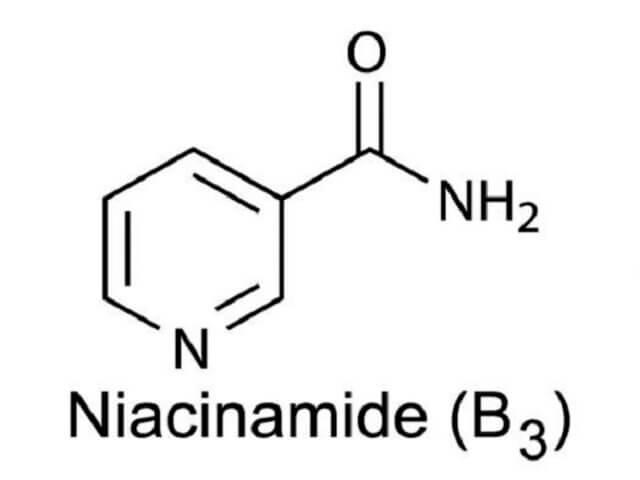 Cấu trúc hóa học của Niacinamide
