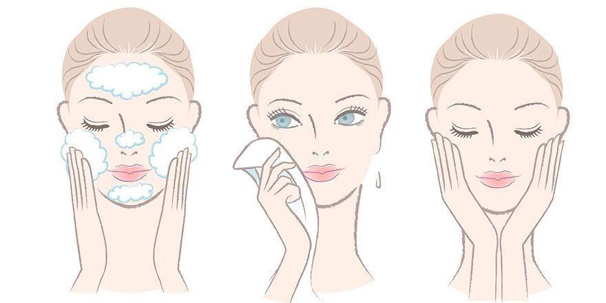 Rửa mặt là bước đầu tiên để có làn da sạch khỏe