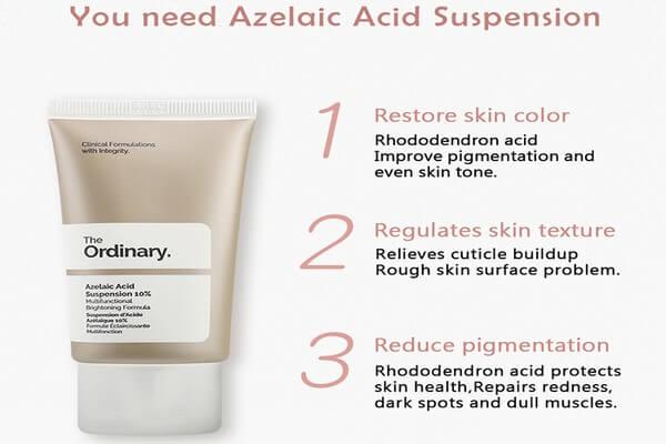 Sản phẩm trị thâm với 10% azelaic acid