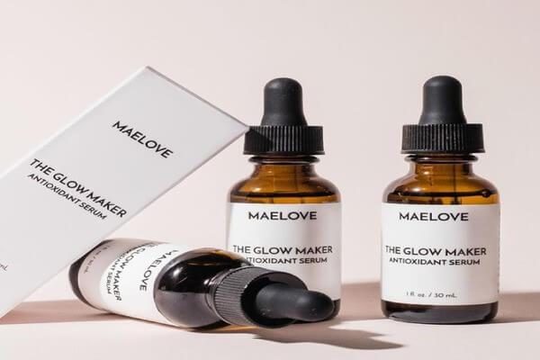 Serum chứa vitamin C của Maelove chứa phức hợp 15%LAA+ vit E+ Ferulic acid