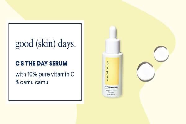 Serum của Good Days có chứa tới 10% vitamin C ở dạng nguyên chất - serum trị nám tàn nhang hiệu quả