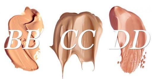 Sự khác biệt nhau giữa ba loại cream là BB, CC và DD - dd cream loại nào tốt