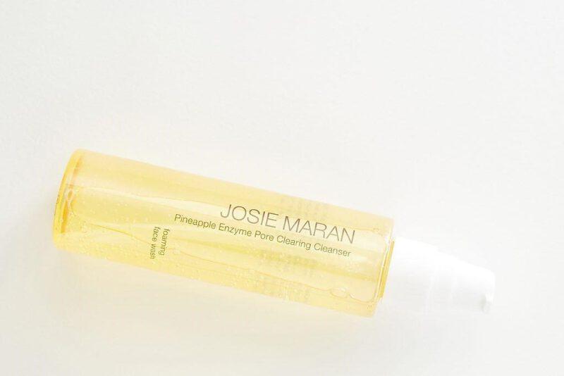 Sữa rửa mặt Josie Maran - sữa rửa mặt dịu nhẹ