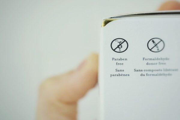 Tại châu Âu những gốc paraben độc hại không còn xuất hiện trong các sản phẩm làm đẹp