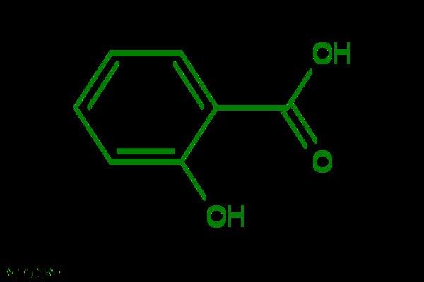 Thành phần salicylic được tìm thấy rất nhiều trong sản phẩm trị mụn ở mông - kem trị mụn mông