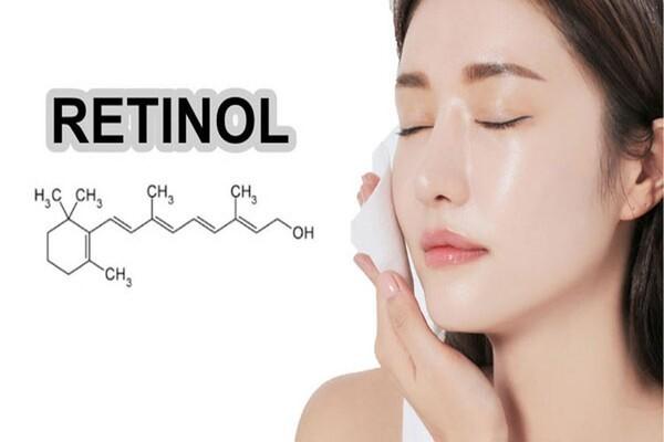 Thành phần vàng Retinoids giúp vùng da mũi trở nên mịn màng hơn