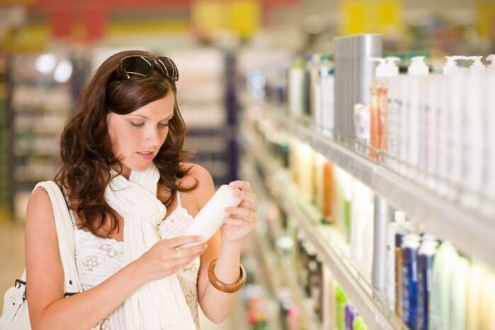 Trước tiên hãy chọn những loại sản phẩm chăm sóc với tiêu chí an toàn