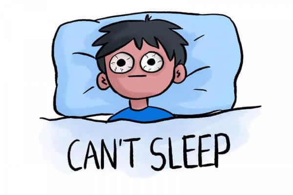 Việc thức khuya, căng thẳng, ảnh hưởng đến cả sức khỏe và làn da - cách trị mụn tại nhà