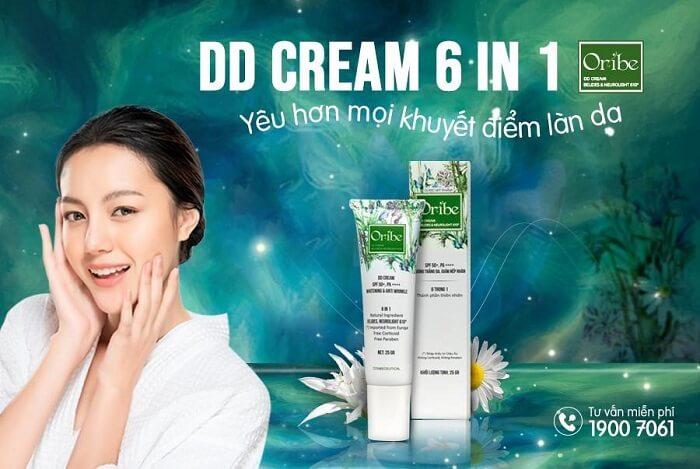 Bảng thành phần đỉnh cao của kem DD Cream Oribe 6in1