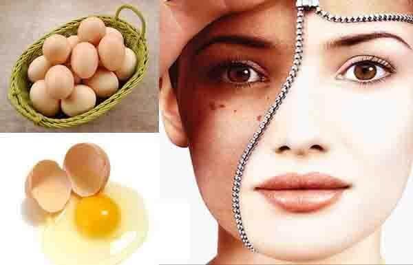 Cách làm trắng da toàn thân tại nhà bằng trứng