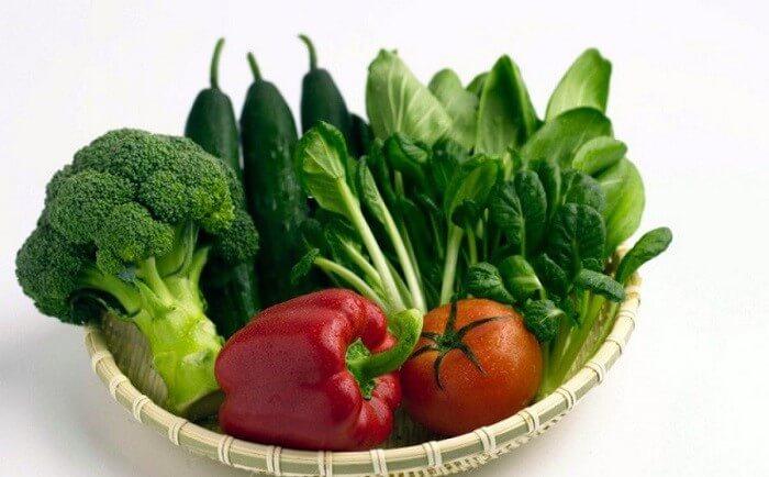 Chế độ ăn lành mạnh giúp các vết dị ứng nhanh biến mất