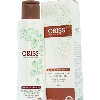 Dung dịch vệ sinh Oriss là lựa chọn lý tưởng cho các chị em.