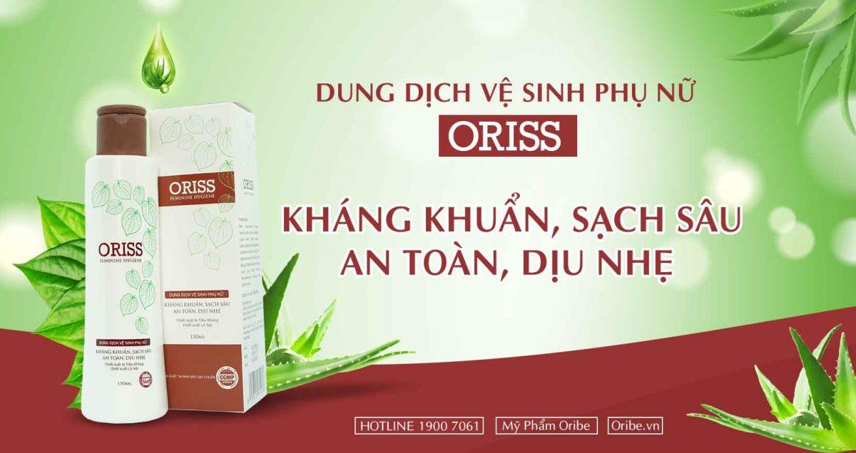 Dung dịch vệ sinh phụ nữ Oriss