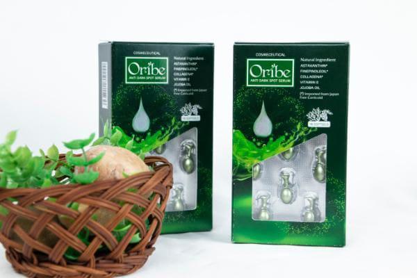 Viên serum Oribe - mờ nám, sáng da, chống lão hóa - sử dụng serum đúng cách
