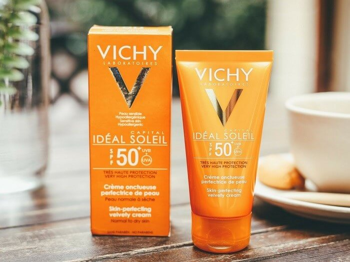 Kem chống nắng Vichy Ideal Soleil SPF 50 Face Dry Touch