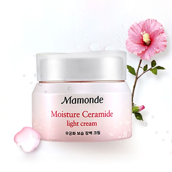 Kem dưỡng ẩm dịu nhẹ Mamonde Moisture Ceramide Light Cream