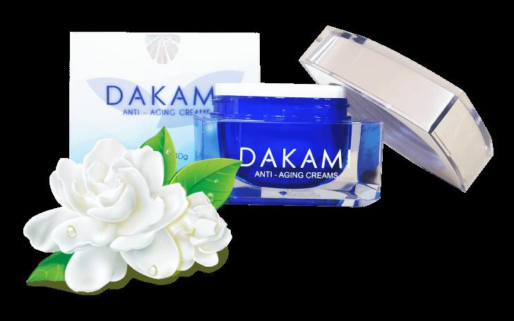 Kem dưỡng trắng và chống lão hoá da mặt Dakami