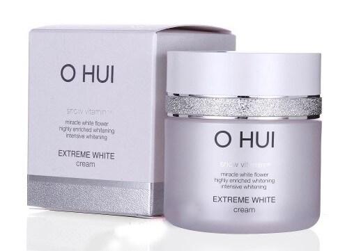 Kem OHUI chiết xuất hoa thủy tiên giúp dưỡng sáng da