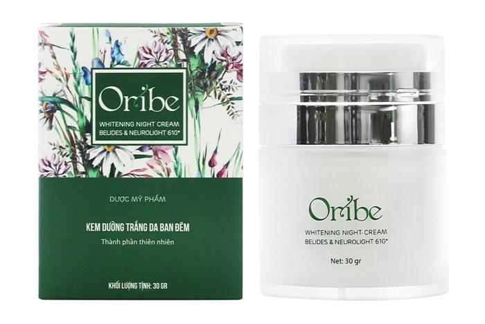Kem dưỡng trắng da Oribe ban đêm thấm nhanh và không gây nhờn rít