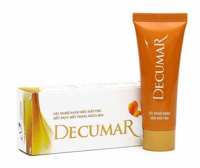 Kem trị mụn Decumar giúp giảm mụn nhanh chóng, phù hợp với mọi đối tượng