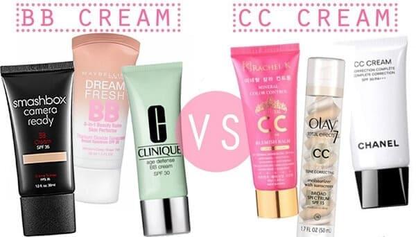 Một số gợi ý BB và CC Cream để bạn lựa chọn