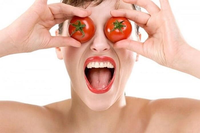 Mặt nạ cà chua làm trắng da mặt tại nhà đơn giản, tiết kiệm