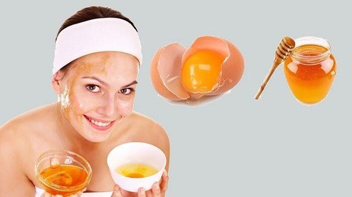 Mặt nạ trứng tốt cho làn da mụn