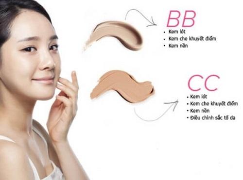 Ưu điểm của BB và CC Cream