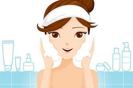 Rửa mặt là bước quan trọng nhất đối với da tuổi dậy thì