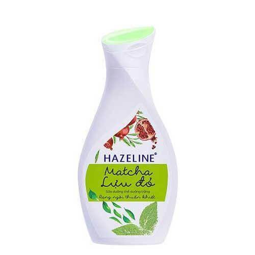 Sản phẩm dưỡng thể của Hazeline chống oxy hóa, tăng độ đàn hồi