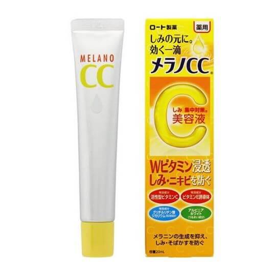 sản phẩm Melano CC nổi tiếng ở xứ sở hoa anh đào